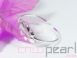 spray shape 925 sterling silver bracelet