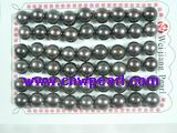 wholesale 8.5-9mm black bread loose pearl beads