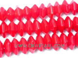 "16"" 12mm red irregular natural loose coral beads"