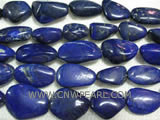 15-25mm irregular lapis lazuli loose gemstone beads