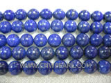 8mm blue round lapis lazuli loose gemstone beads