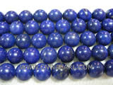 12mm blue round lapis lazuli loose gemstone beads