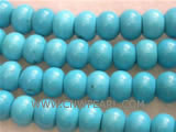 12-30mm blue elliptical natural loose turquoise beads