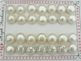 12-13mm big white loose bread pearl with some discount