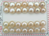 12-13mm pink loose bread pearl at a factory price